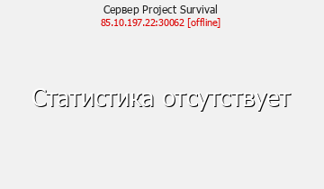 Сервер Minecraft Project Survival