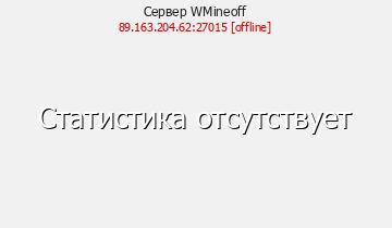 Сервер Minecraft WMineoff