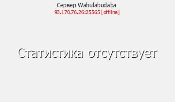 Сервер Minecraft Wabulabudaba