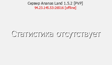 Сервер Ananas Land 1.5.2
