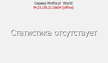 Сервер Minecraft Mythical World