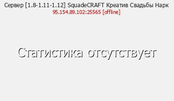 Сервер SquadeCraft