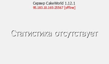 Сервер CakeLand