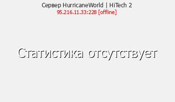 Сервер Minecraft HurricaneWorld | HiTech 1