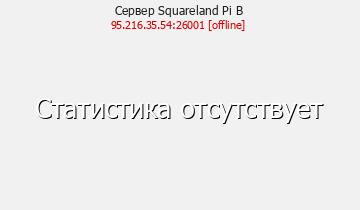 Сервер Minecraft Squareland Pi B
