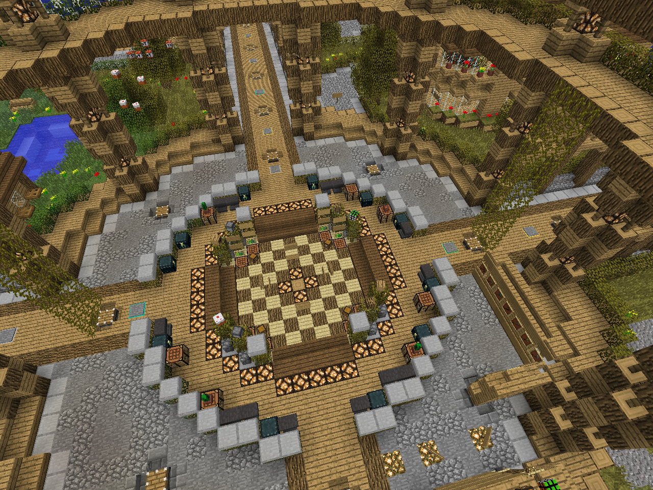 ВСЕ СЕРВЕРА Варпы или как создать варп в Minecraft? - m 40