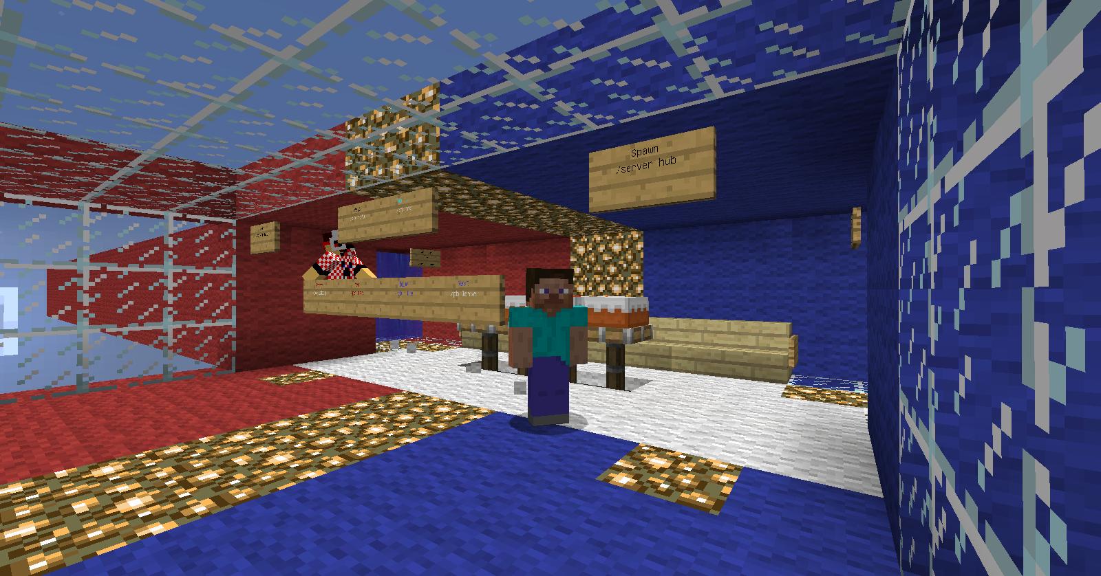 Сервера Creative/Креатив для Minecraft 1.8, 1.8.1